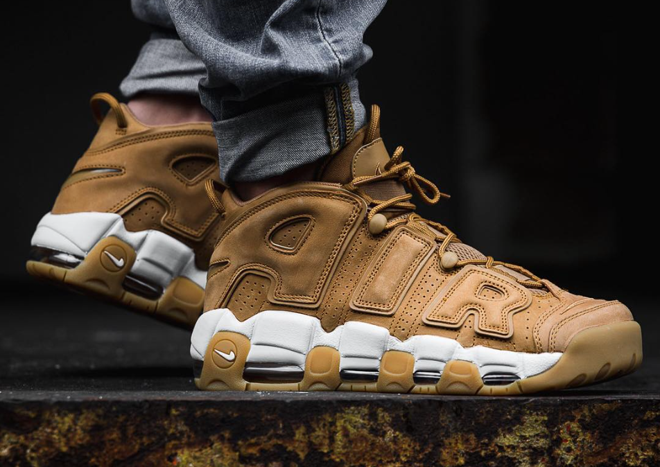 best sneakers e53c4 235bc Nike Air More Uptempo Wheat (Flax) Dropping This Weekend