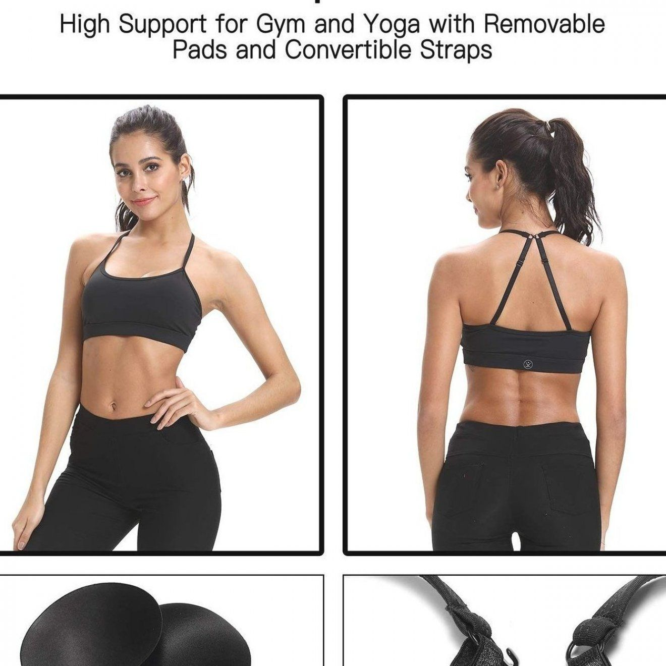 Women s Workout Clothes - Women s Sports Bras Yoga Bra - CH18I74UGK5 - Sports   Fitness Clothing  Wo...