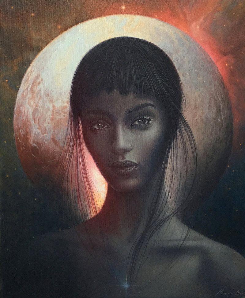 Girl from Pluto by AndriyMarkiv.deviantart.com on @DeviantArt