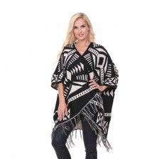 This patterned poncho is PERFECT for layering this season and it's on trend with some very vibrant prints that have walked down the runway...Go to http://9thelm.go2cloud.org/SH1w to check it out !