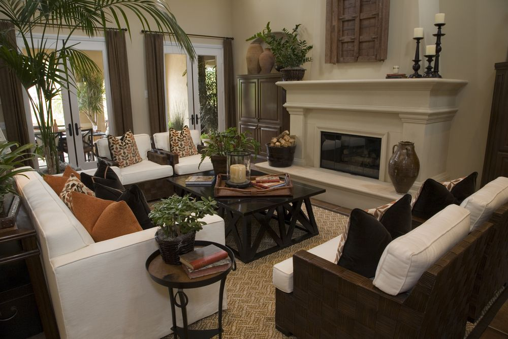 Beautiful living room design.  Check out 47 more beautiful living room design ideas at