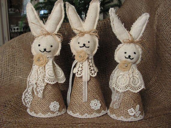 Decori Pasqua in iuta