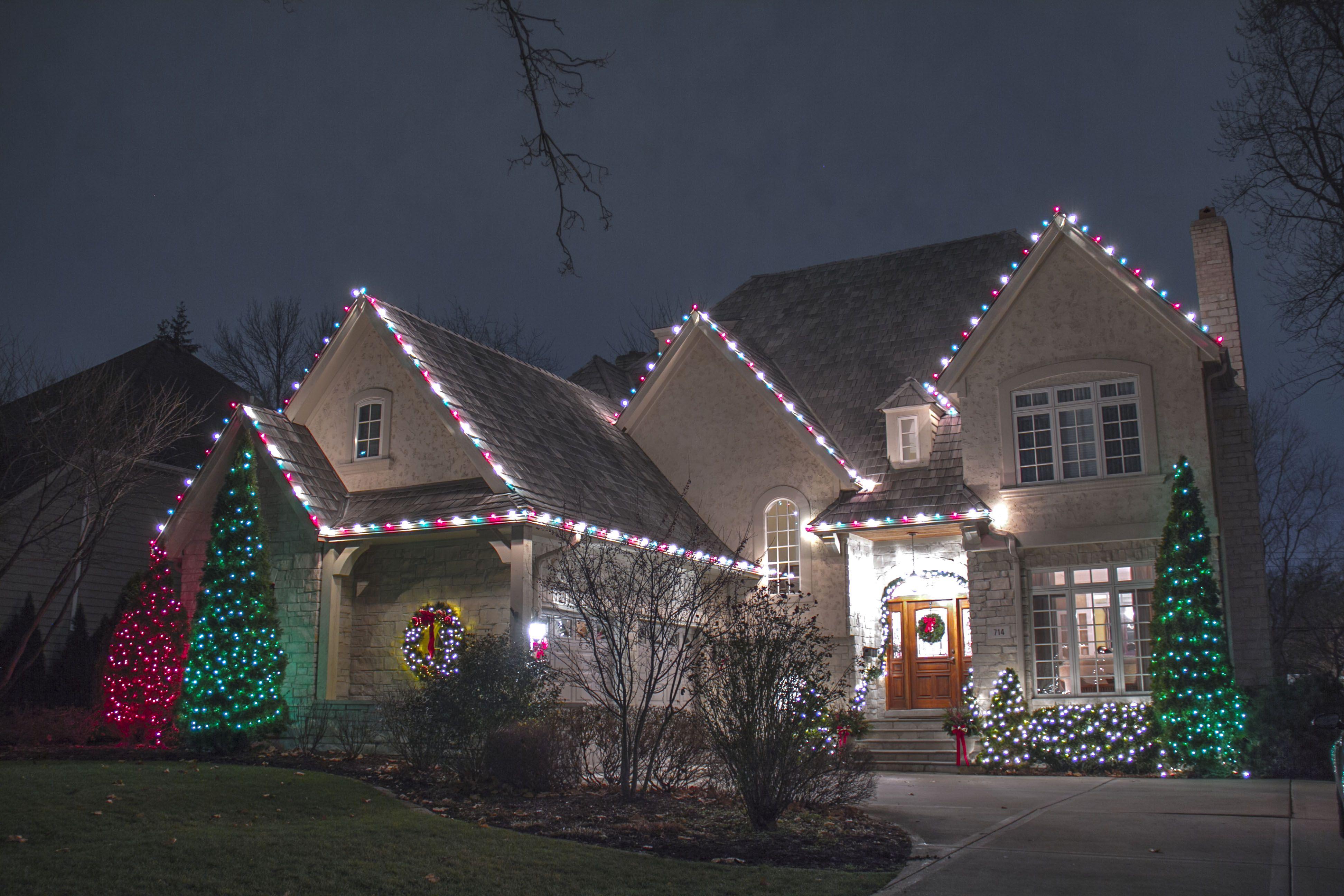 Where and How to Hang Christmas Lights Creative Ideas