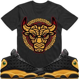 06fa6424e58e Jordan Retro 13 Oak Hill Melo Match Sneaker Tees Shirt - TIKI BULLY ...