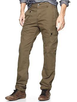 Gap x GQ Todd Snyder Infantry Cargo Pants - olive herringbone - itu0027s ok,  but I donu0027t love it