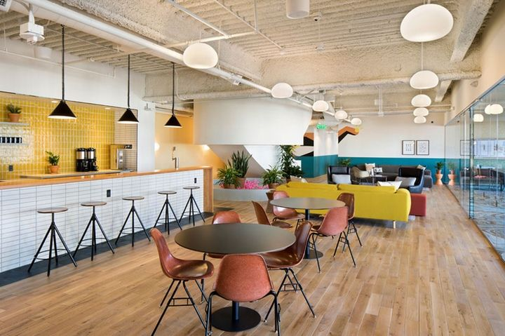 Wework embarcadero center coworking offices by msa architecture