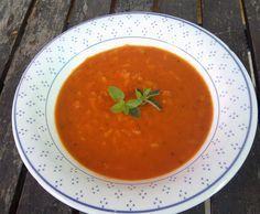 Rezept Tomatensuppe mit Reis von kedgeree - Rezept der Kategorie Suppen