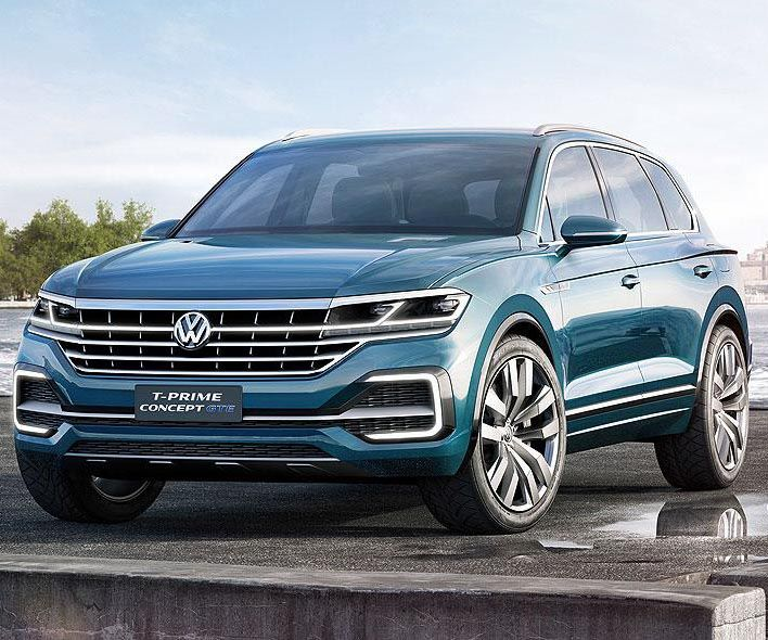 2018 vw touareg is likely to get a full redesign in the same way as t prime concept car the. Black Bedroom Furniture Sets. Home Design Ideas