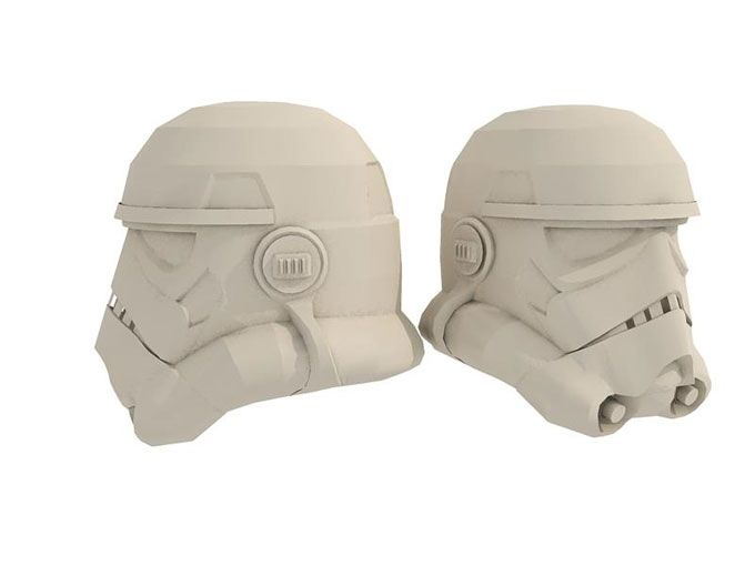 Stormtrooper Helmet with EVA Foam Pepakura | Papercraft ...