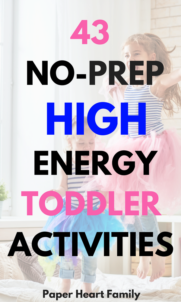 44 Activities To Tire Our Your Energetic Toddler Before Bedtime ...