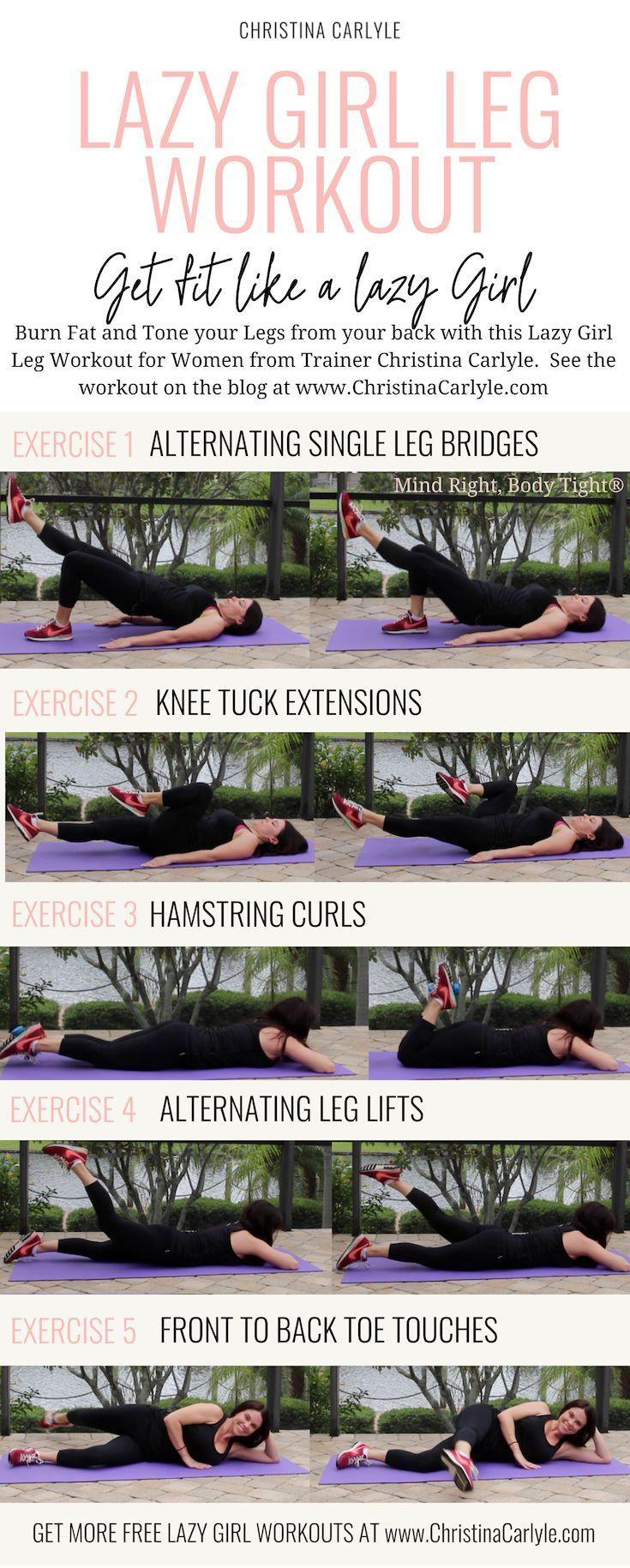 Lazy Girl Leg Workout  Fitness  #Fitness #Girl #Lazy #leg #Workout  Thera Band