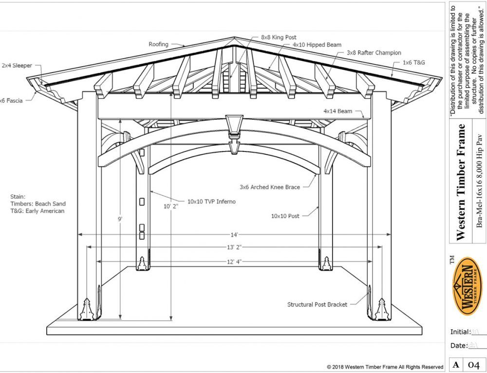 Resawn Timber 6 Post DIY Pavilion Olde Wood Stain ...