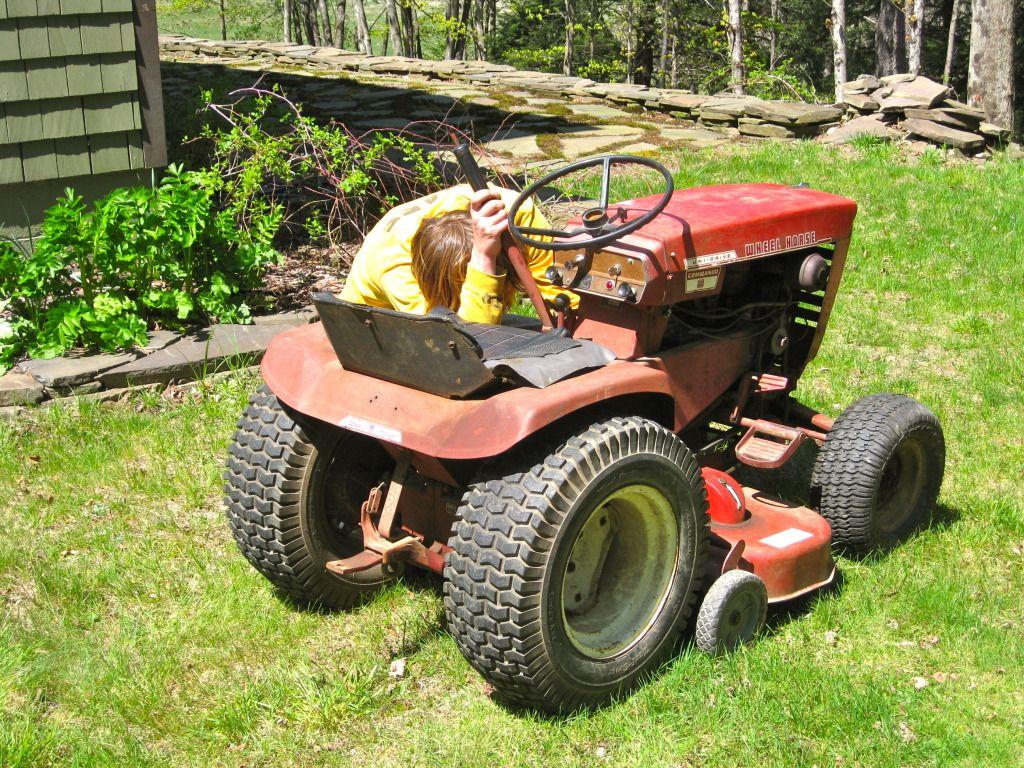 Oldschoolfarm S Image Lawn Tractor Wheel Horse Tractor Garden Tractor