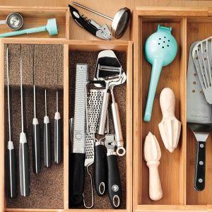 Los utensilios y cuchillos