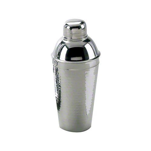 Elegance Silver (72644) - 24 oz Hammered Stainless Steel Cocktail Shaker | FoodServiceWarehouse.com