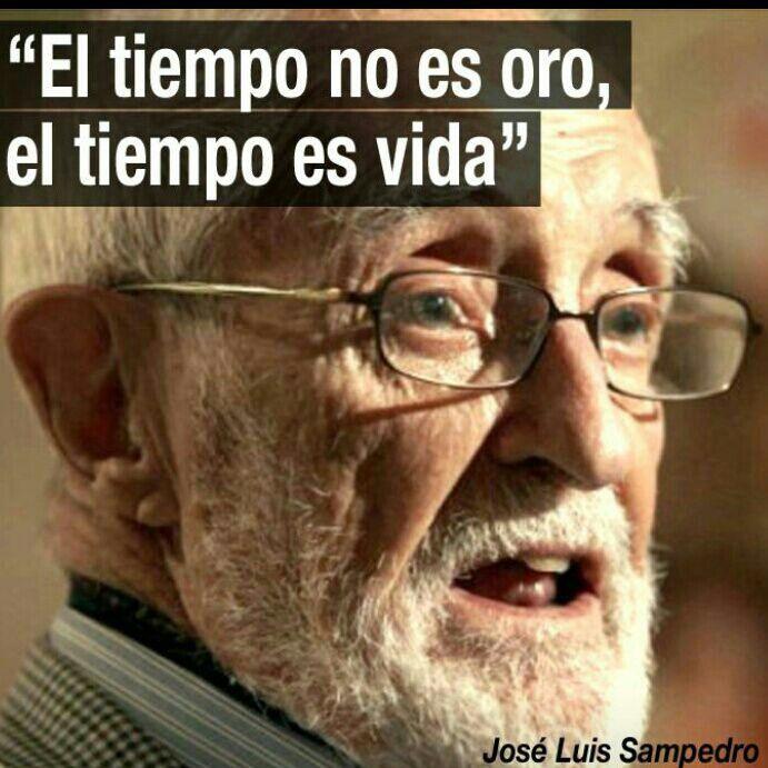 El tiempo por José Luis Sampedro