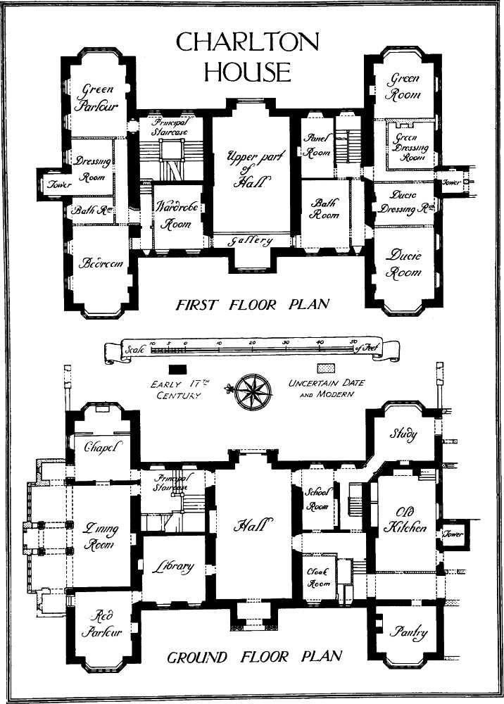 Charlton House London Uk Floor Plan Old Houses