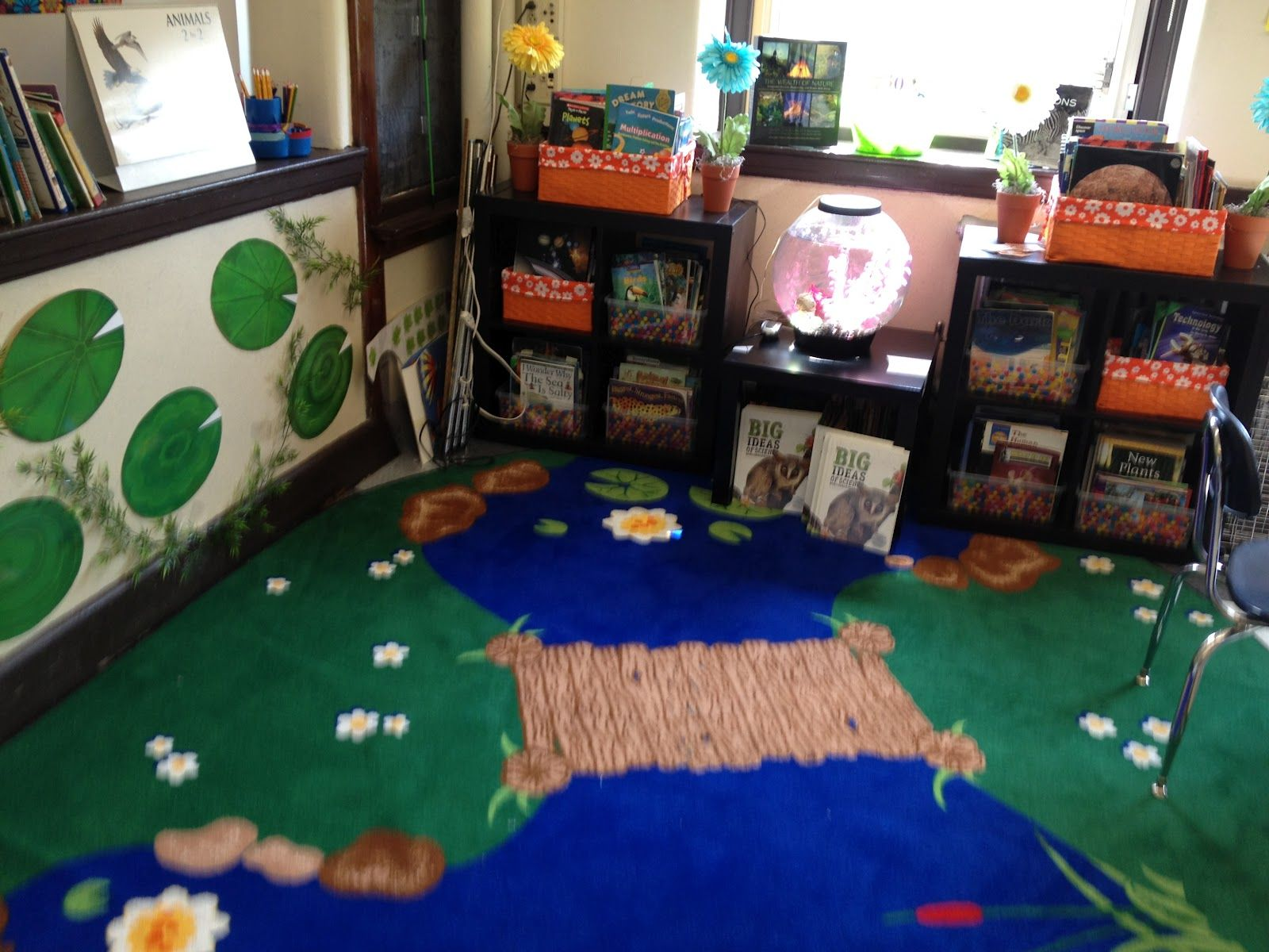Forest Pond Themed Classroom