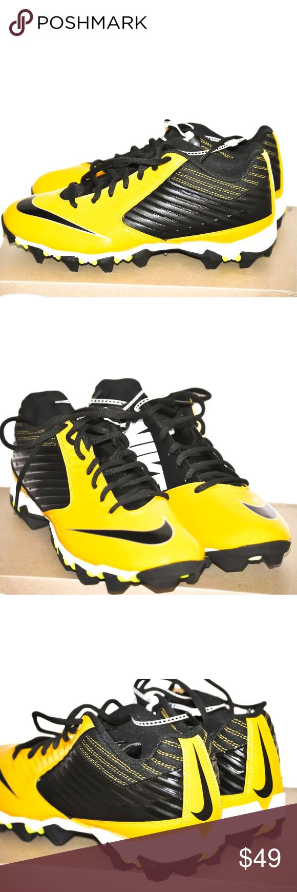 Nike Men's Vapor Shark Football Cleats size 9 NIB NWT Pinterest