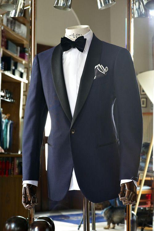 navy shawl collar tux | Men Clothing | Pinterest | Navy ...
