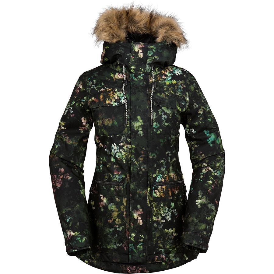 Volcom Shadow Insulated Jacket Women S In 2019 Clothes