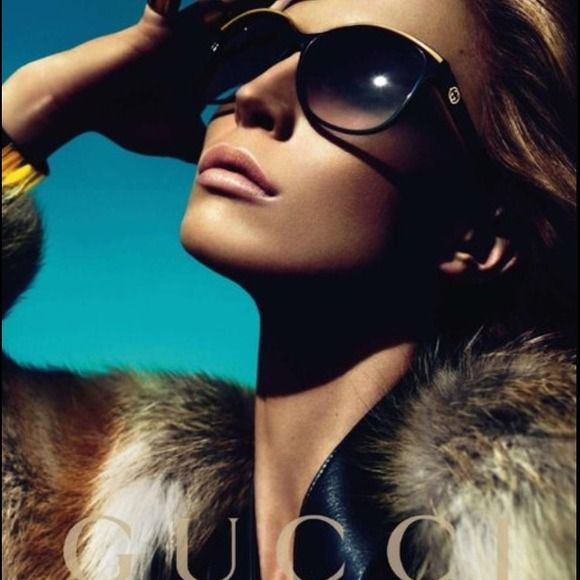 ab459467fd8 Gucci Cat Eye Sunglasses Raise eyebrows with the head-turning look of the  3155 from