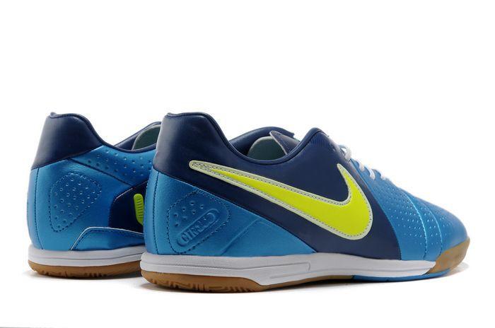 best service fadc1 071a5 Chaussures de foot nike CTR360 Libretto III IC Bleu Jaune pas cher