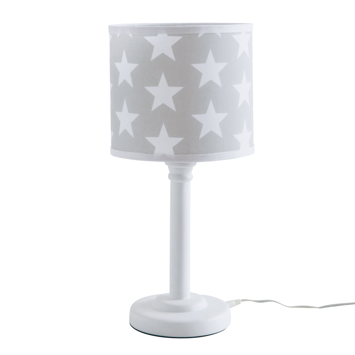 This Great Looking Kids Lamp Features A Fully Enclosed Bulb To