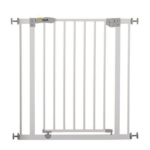Hauck Safety Gate \u2013 Grille de protection de porte Blanc ou Noir - fixation porte de placard