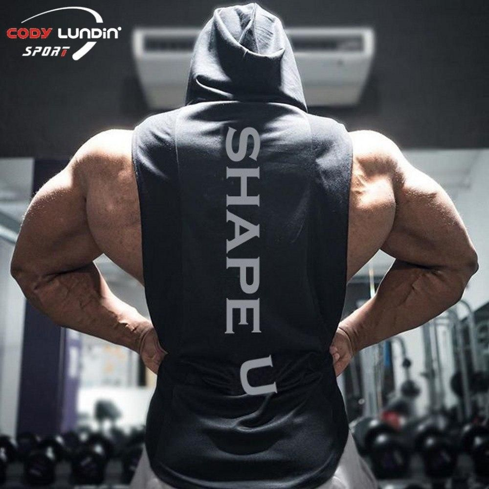 Gym Bodybuilding Vest Funny Mens Sports Performance Singlet White Six Pack Com