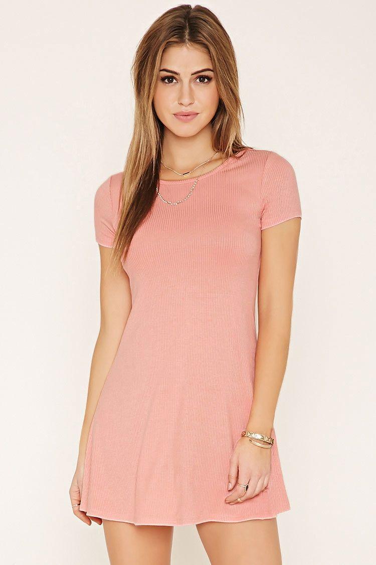 ribbed mini dress | minikleid, kleider, mädchenkleid