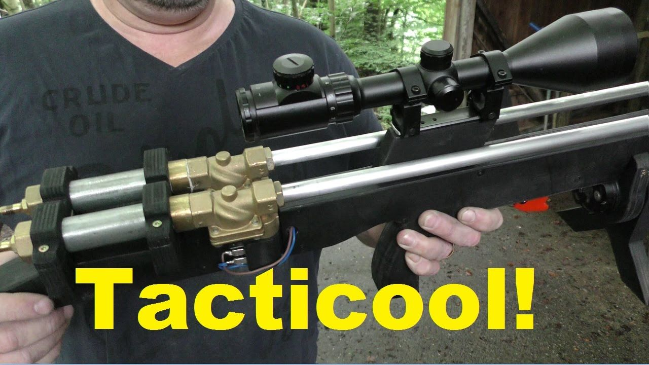 """The """"Tacticoolest"""" Homemade Bullpup Airgun Ever?"""