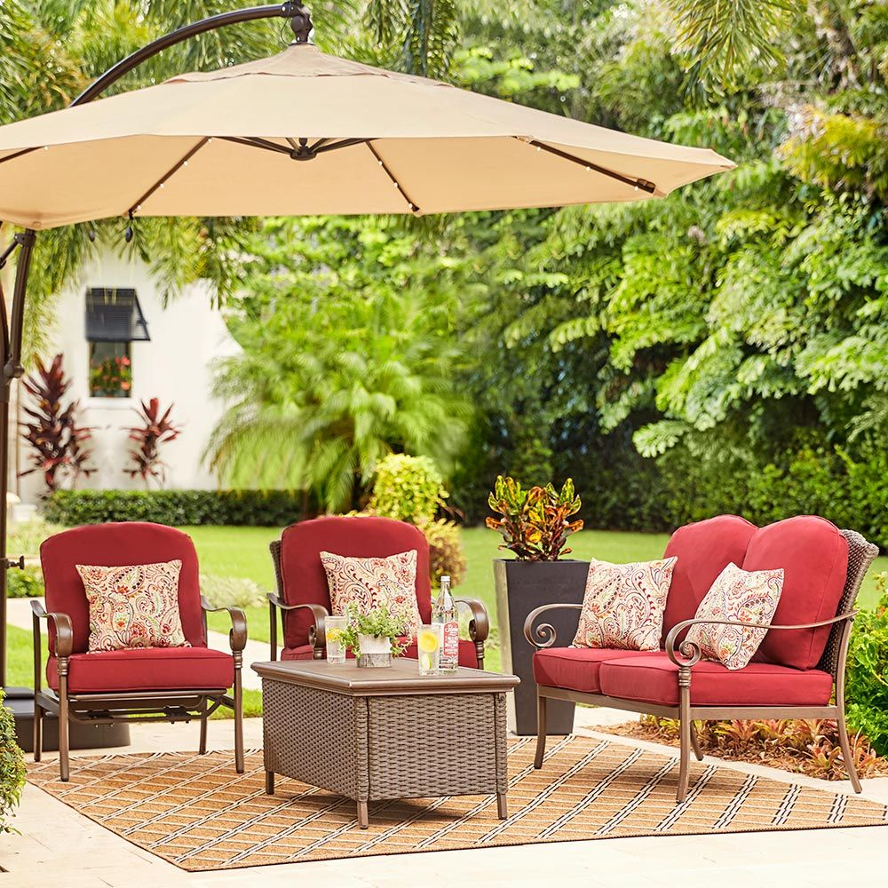 Designing a nice outdoor space doesn't have to be ... on Outdoor Living Ideas On A Budget id=66973