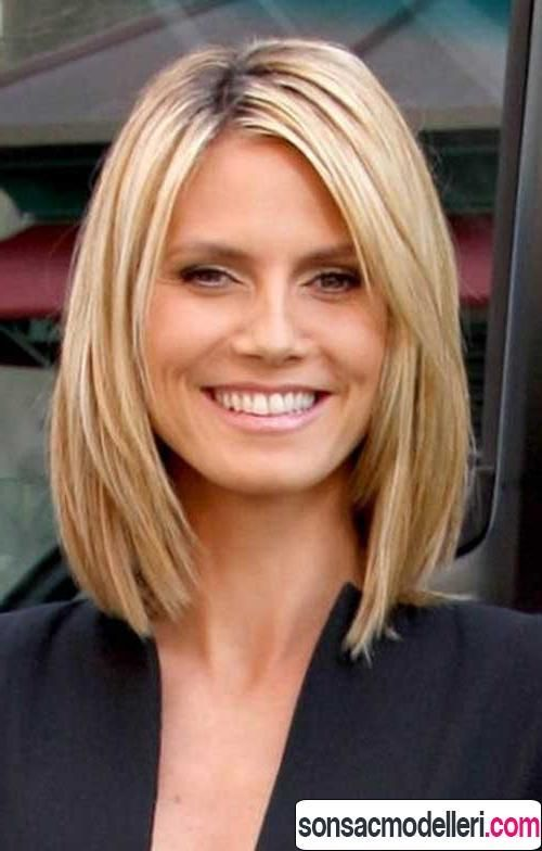 Medium Hairstyles For Women Over 40 Amusing 25 Perfect Haircuts For Women Over 40  Heidi Klum  Pinterest