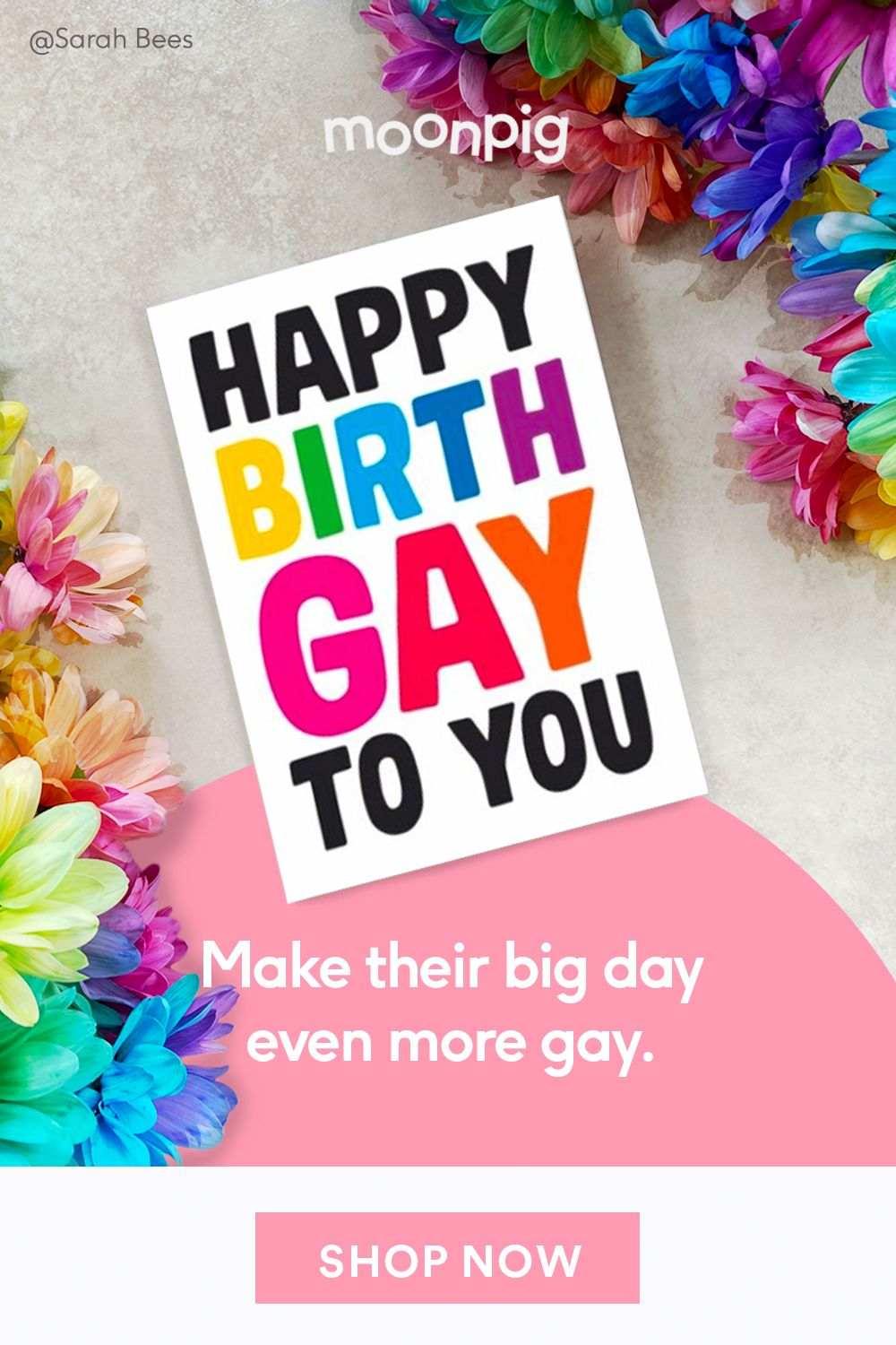 Dean Morris Happy Birthgay To You Birthday Card Birthday Cards New Funny Videos Really Funny Memes