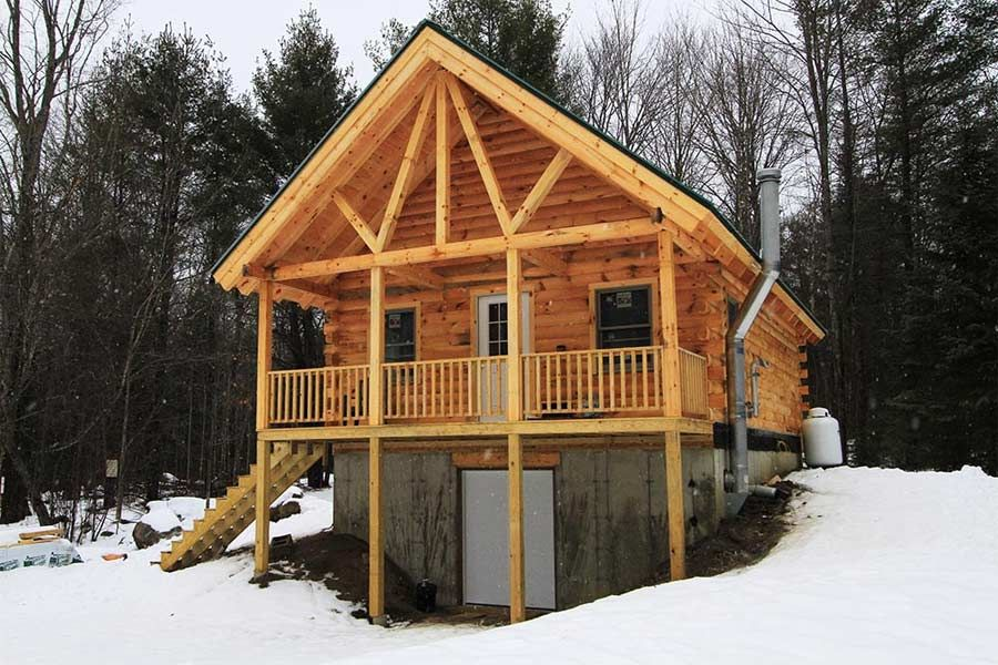 Northwood Log Cabin Plan By Coventry Log Homes Inc Log Cabin Plans Cabin Floor Plans Log Homes