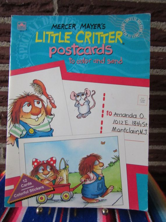 Hey, I found this really awesome Etsy listing at https://www.etsy.com/listing/496746378/little-critter-activity-book-little
