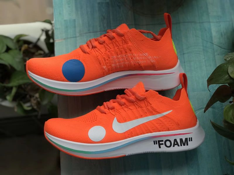 25202d5442d9 Off-White x Nike Zoom Fly Mercurial Flyknit Orange FIFA World Cup 2018  AO2115-