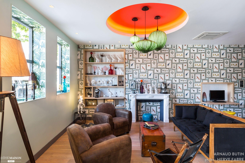 boutique hotel 4 totalement r nov e nice arnaud butin architecte d 39 int rieur papier peint. Black Bedroom Furniture Sets. Home Design Ideas