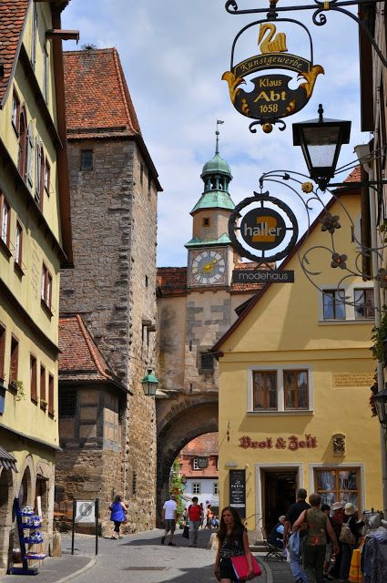 Viajar con Rafa: Rothenburg Ob Der Tauber
