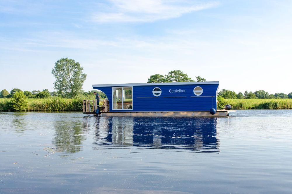 Pin von Projektplanung Land & Wasser auf Hausboote