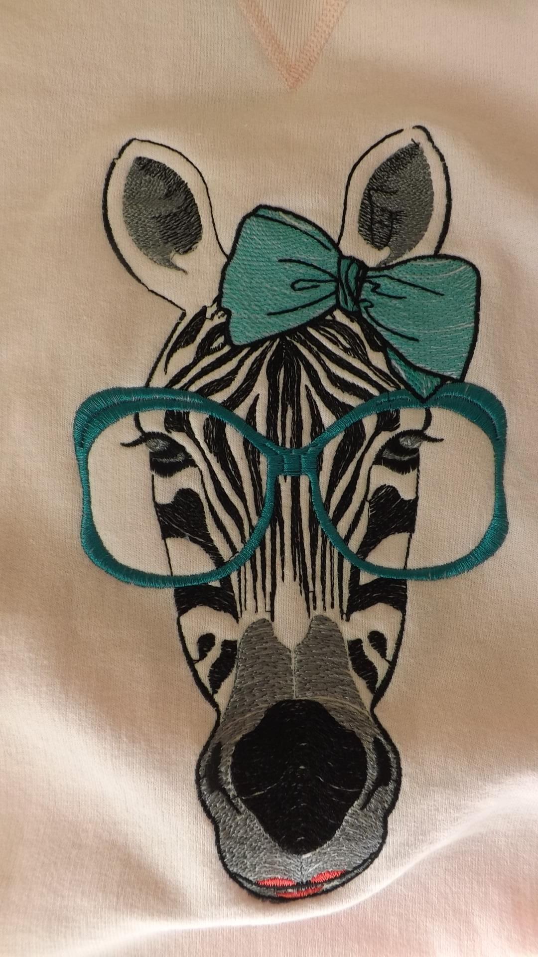 zebra_applique_free_embroidery_design.th | Divers | Pinterest ...