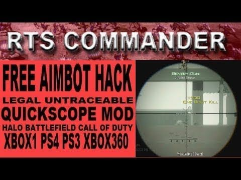 FREE AIMBOT XBOX ONE HACK - LEGAL UNTRACEABLE QUICK SCOPE ...