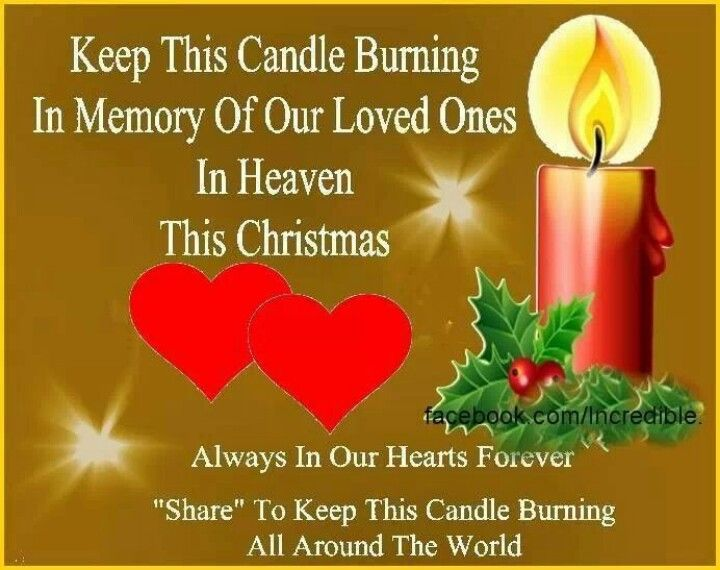 Merry Christmas In Heaven To My Loved Ones ♥ Always In Our