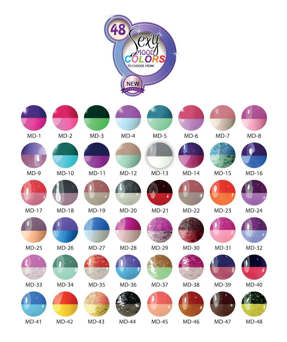 uv-nails mood-changing gel polish | 48 options - $8.99. https