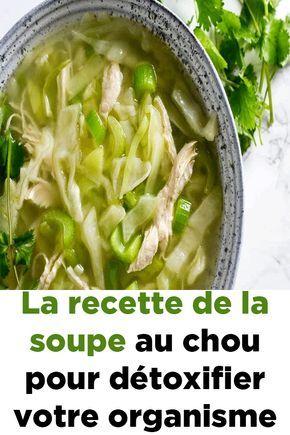 La recette de la soupe au chou pour détoxifier votre organisme !