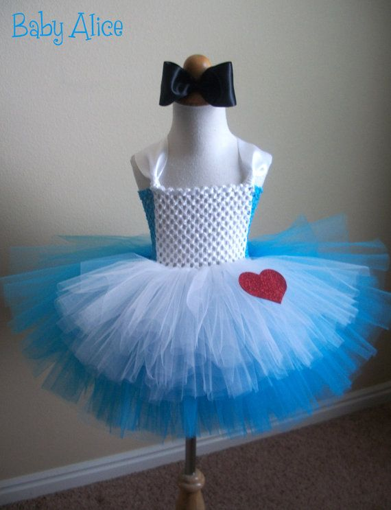 Infant Baby Alice In Wonderland Costume Tutu Dress By
