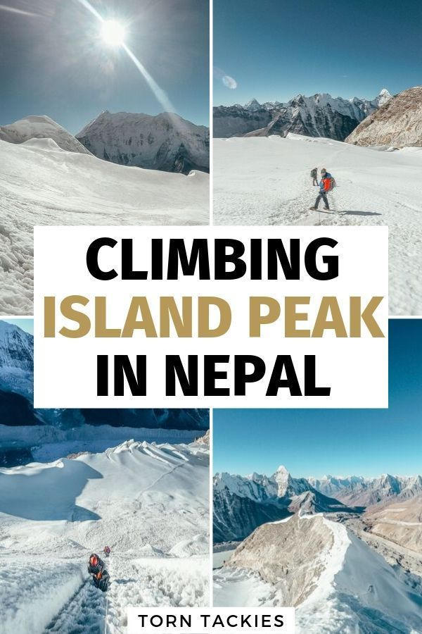 A complete guide to Island Peak climbing in Nepal #campingpictures
