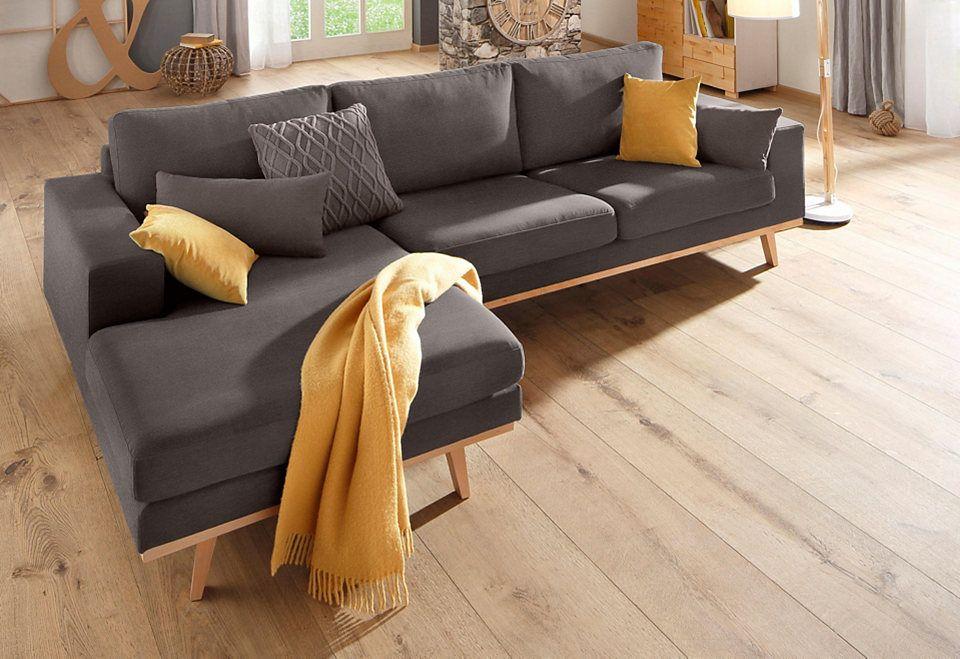 Home affaire Ecksofa »Bornholm« - wohnzimmer design grun