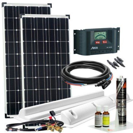 offgridtec wohnmobil solaranlage xl 200 w 12 v komplettsystem caravan solarkit 002735. Black Bedroom Furniture Sets. Home Design Ideas